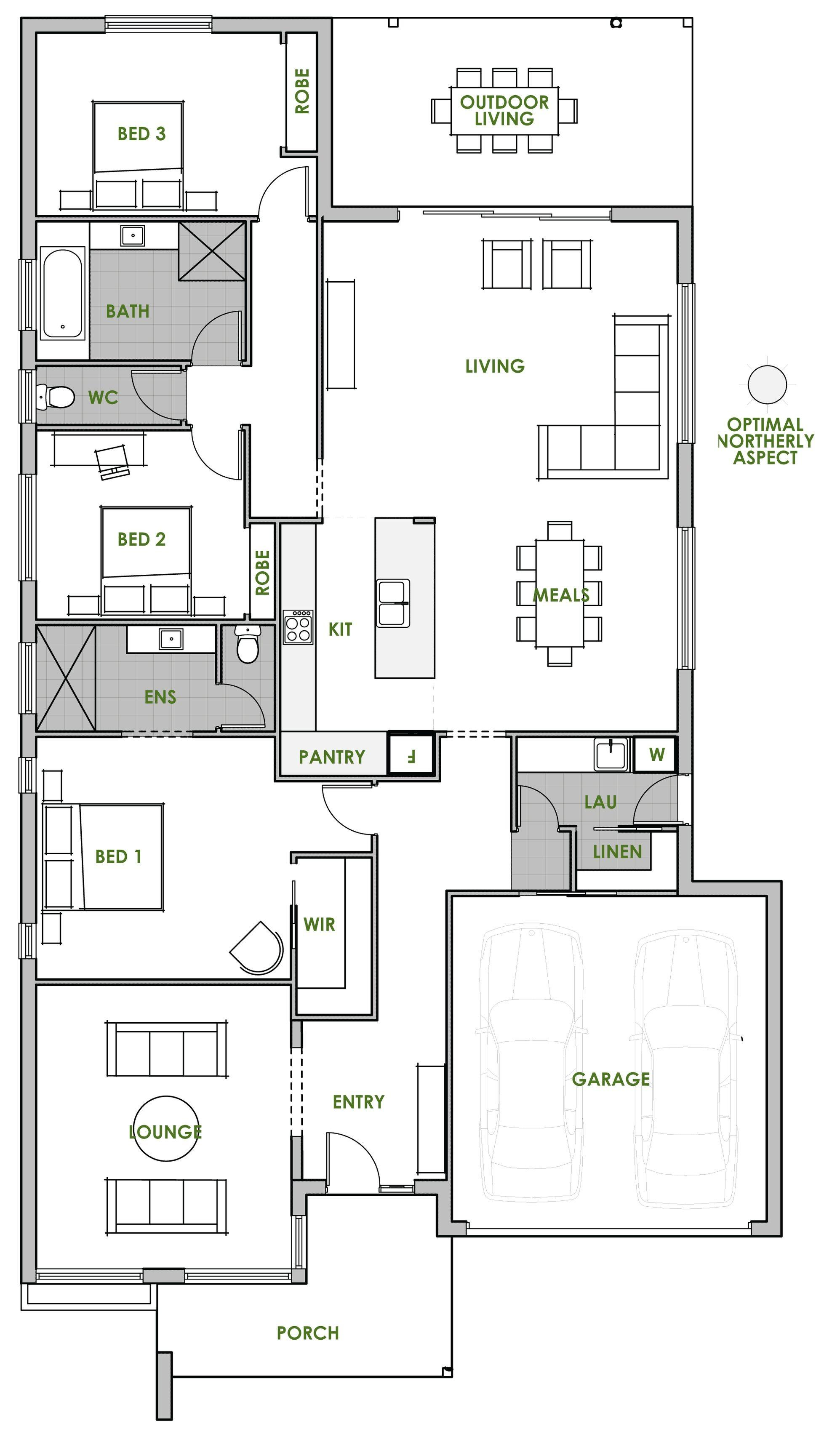 Genuine Energy Efficient Floor Plans Unique