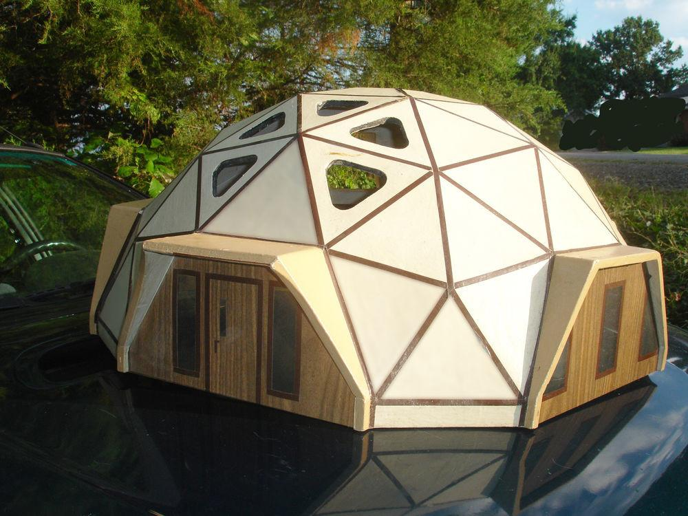 Geodesic Dome Residence Architectural Model