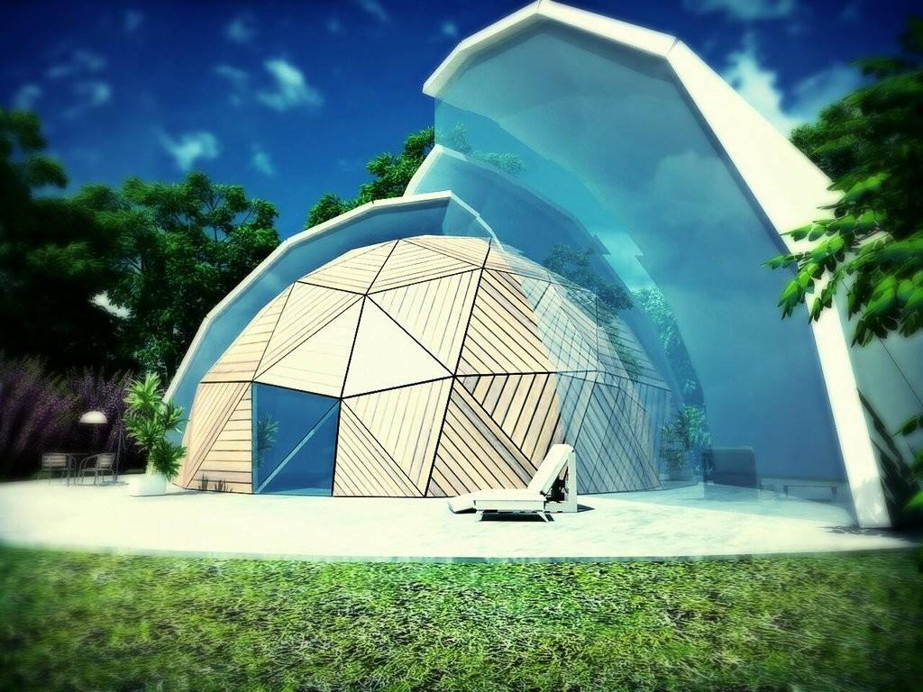 Geodesic Hpl Dome Technical Industrial Laminating