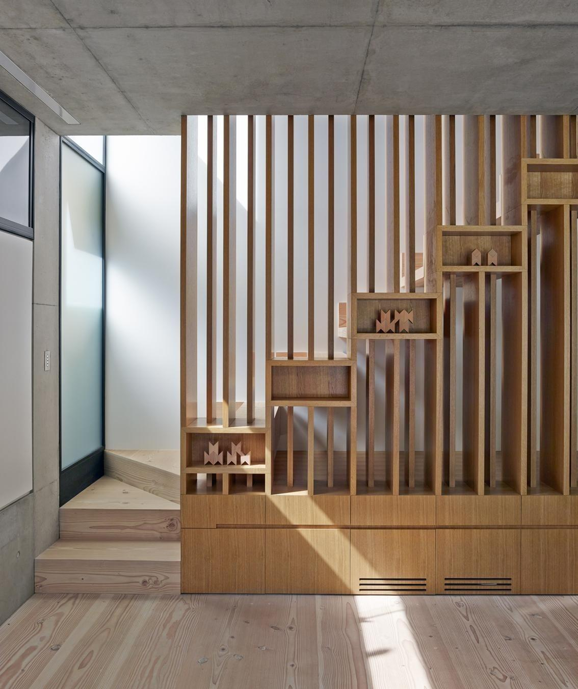 Geometric Staircase Designs