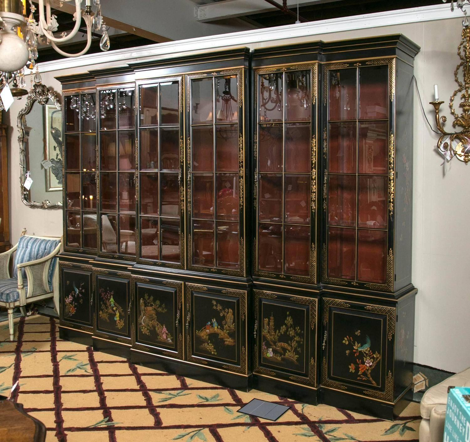 George Iii Chinese Chinoiserie Library Dining Room