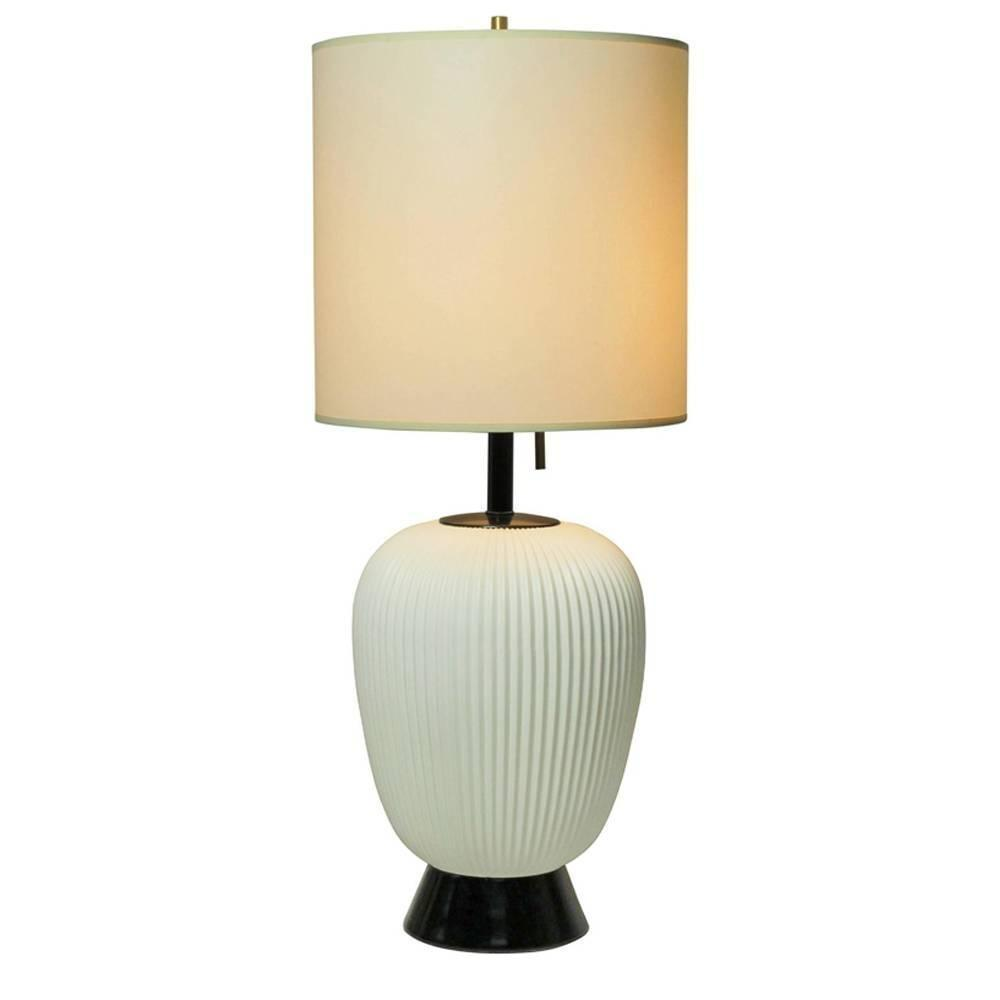 Gerald Thurston Table Lamp Lightolier White