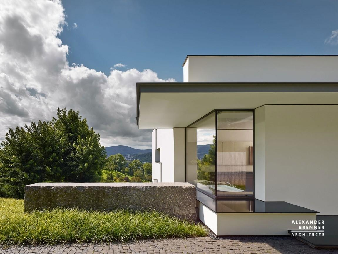 German Contemporary House Top Hill