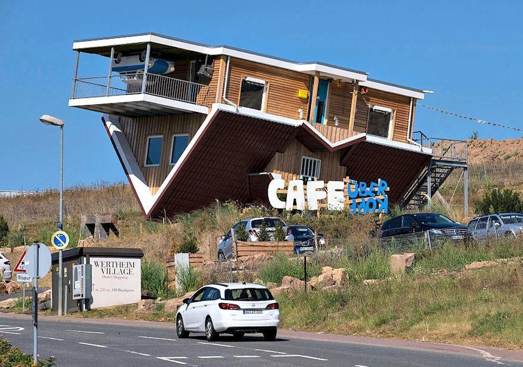 Germany Has Upside Down Cafe House Hatke News