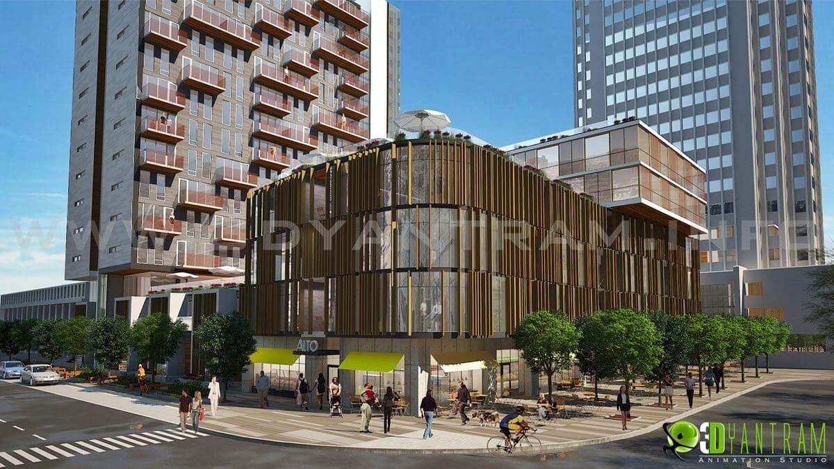 Get Architectural Exterior Rendering Modeling Cgi