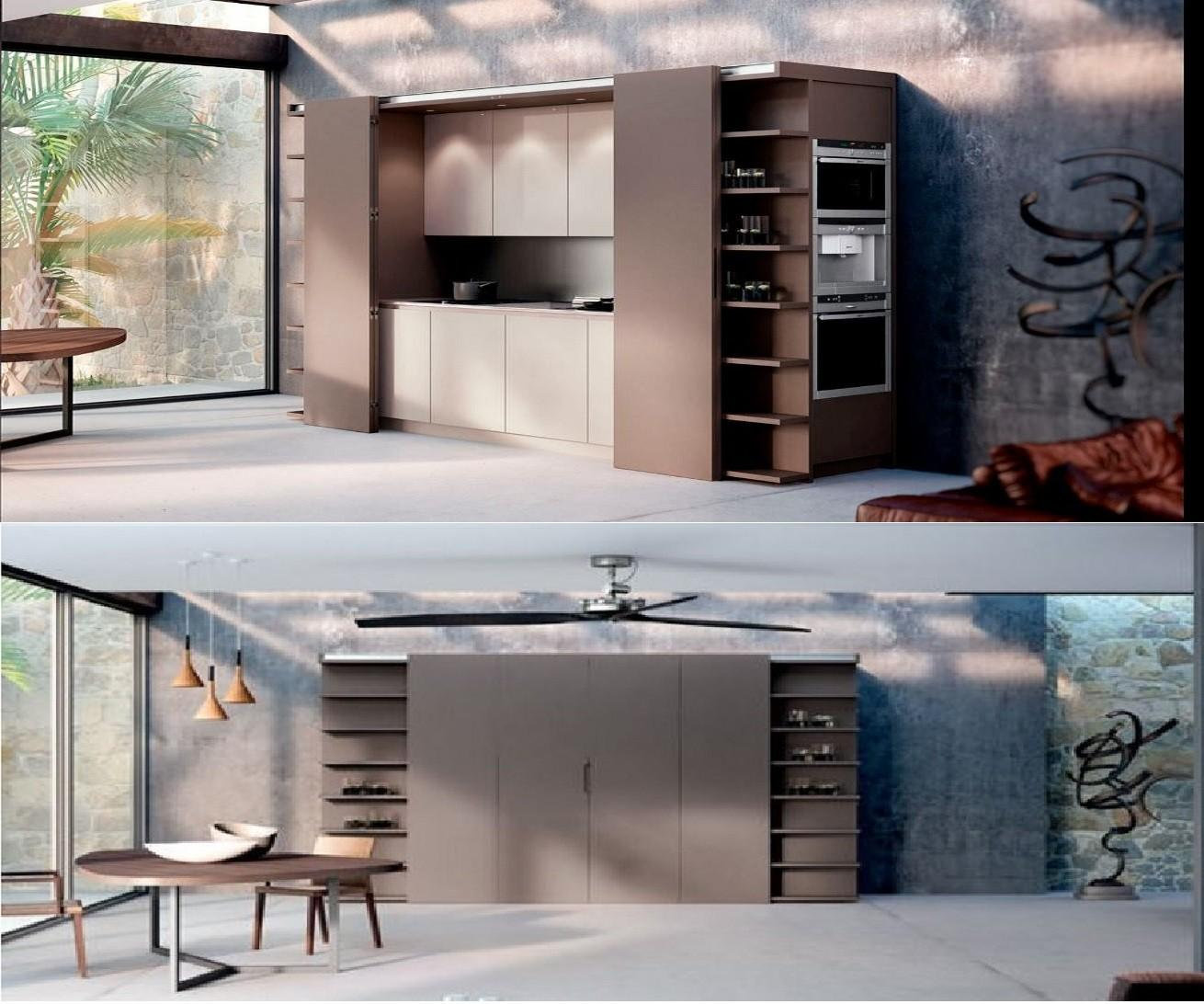 Get Benefit Hidden Kitchens Your Home