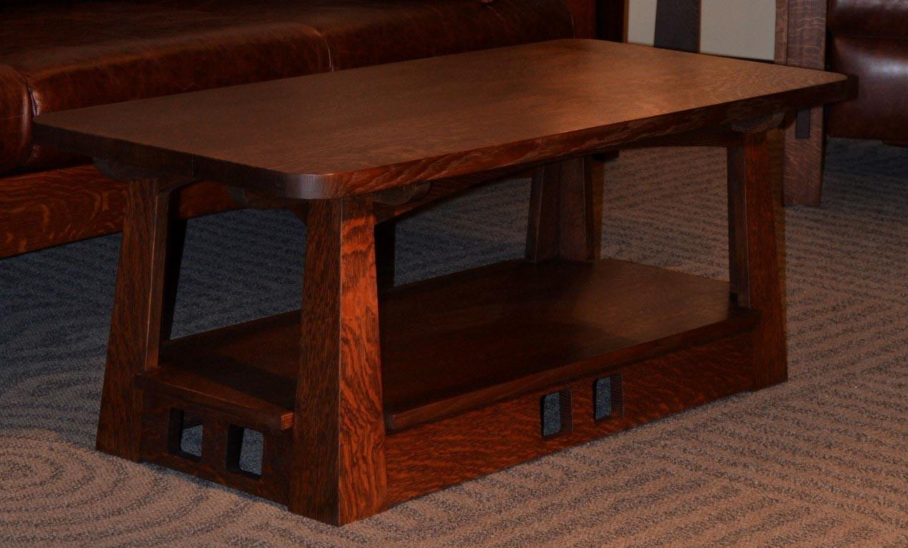 Get Comfort Mission Style Coffee Table