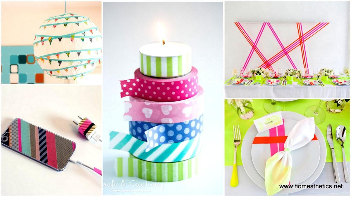 Get Creative Washi Tape Projects