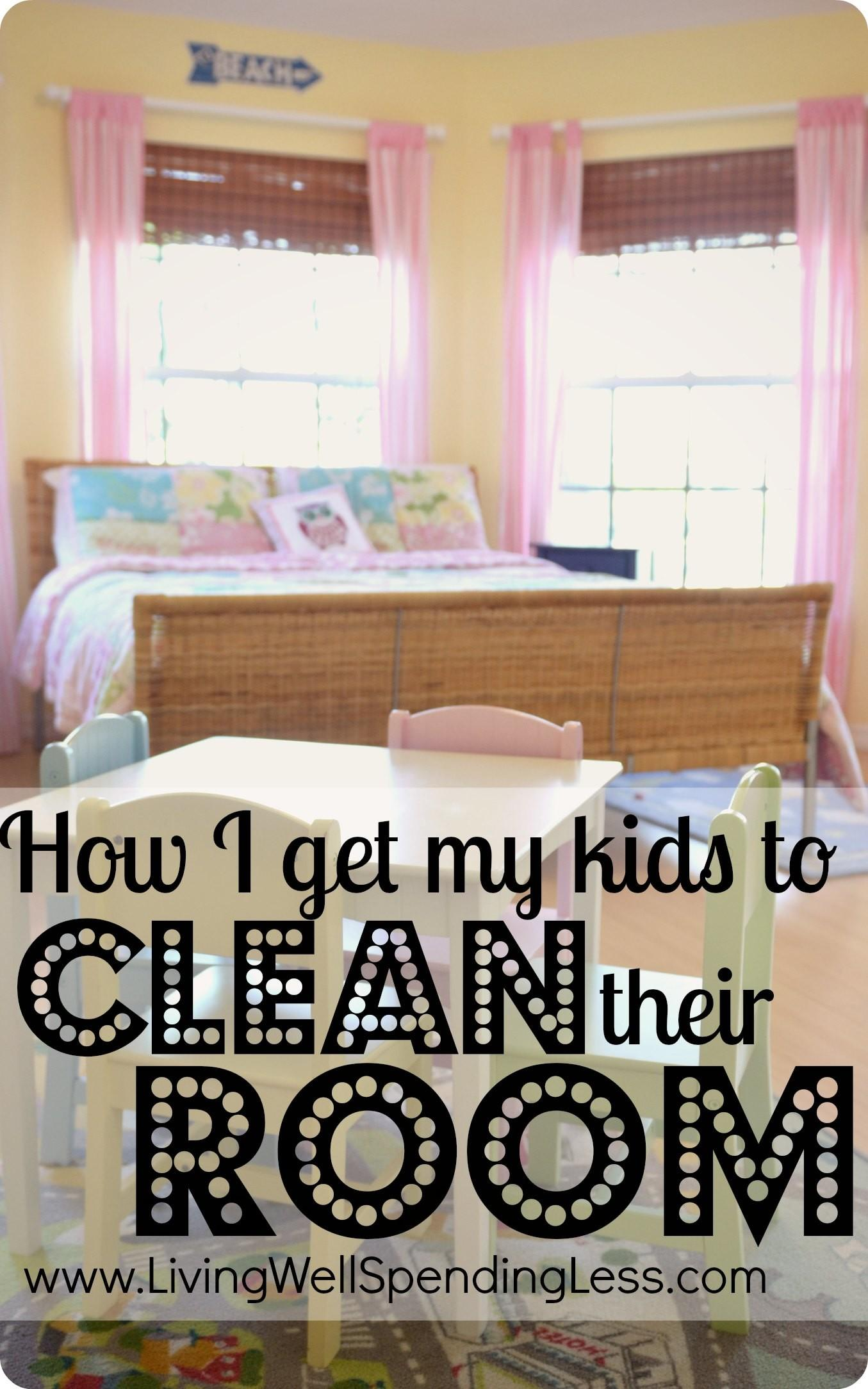 Get Kids Clean Their Room One Mom Struggle