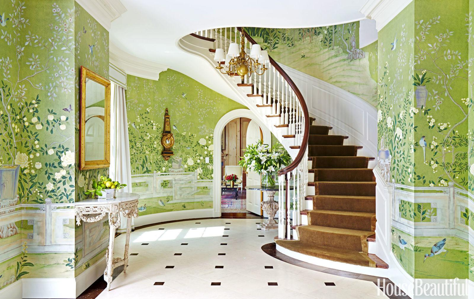 Get Look Glamorously Decorated Home Entrances