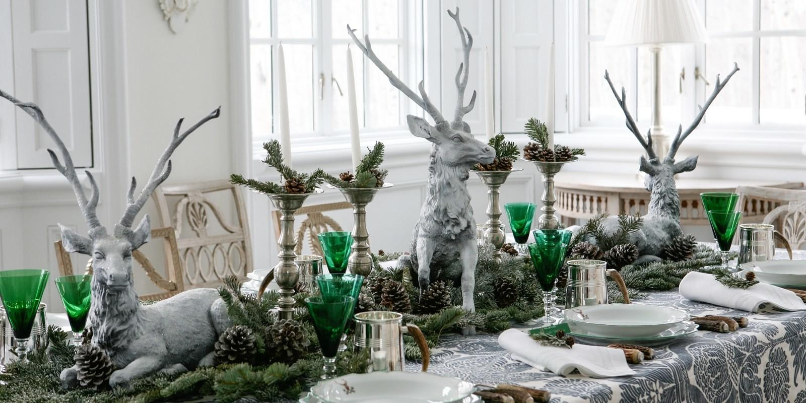 Get Look Ways Style Your Winter Holiday Table