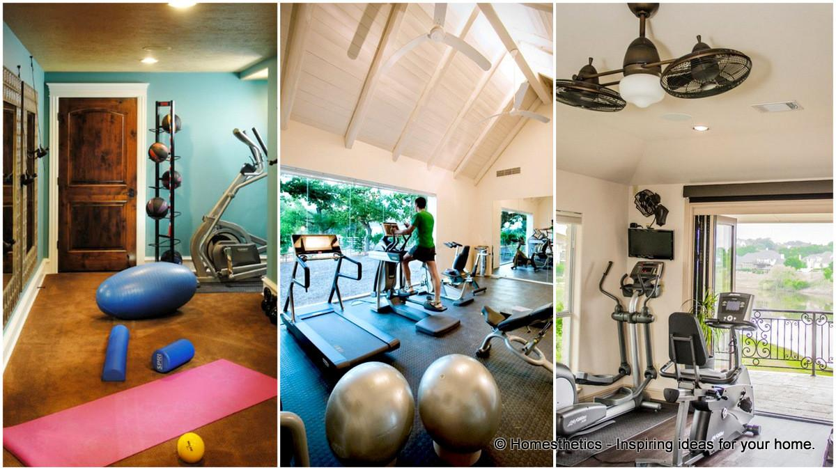 Get Your Home Fit These Gym Design Ideas