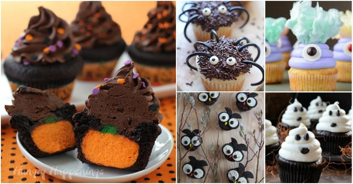 Ghoulish Halloween Cupcakes Add Spooky Touch