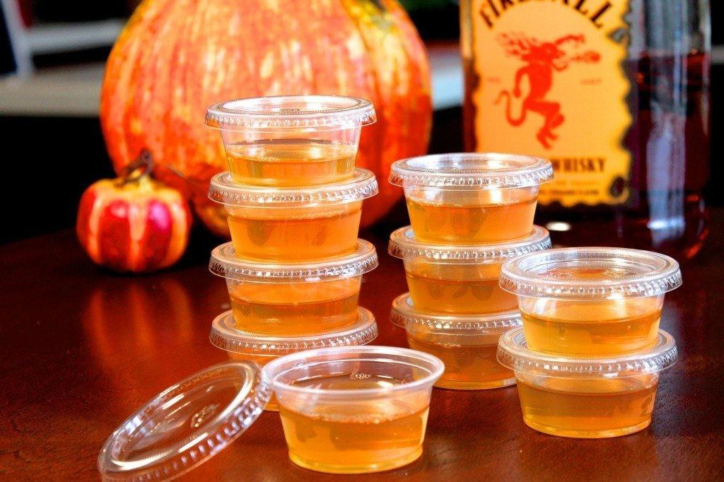 Ghoulish Halloween Themed Shot Recipes