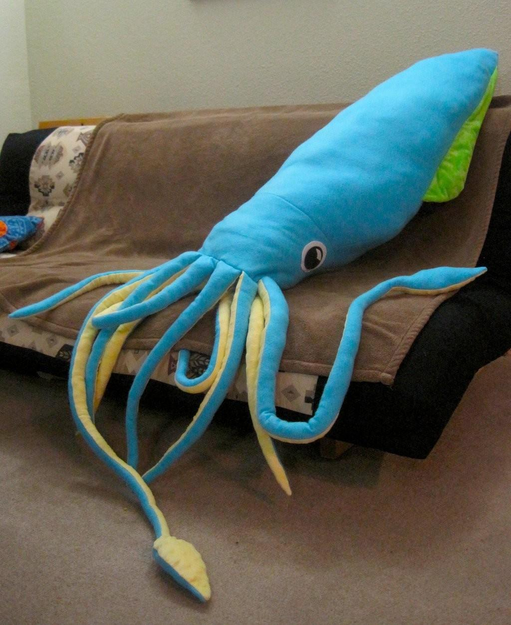Giant Squid Plushie Skylanth Deviantart