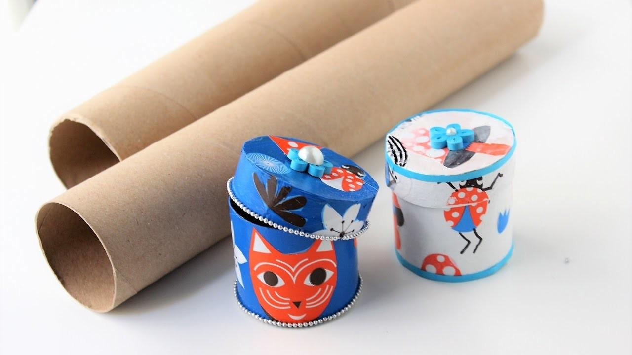 Gift Box Jewelry Out Empty Paper Rolls Best