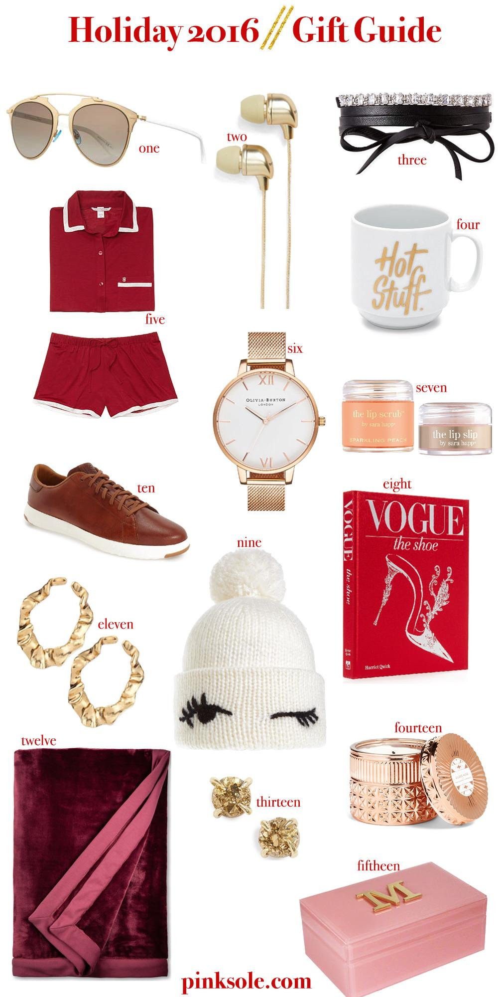 Gift Guide Holiday Shop 2016