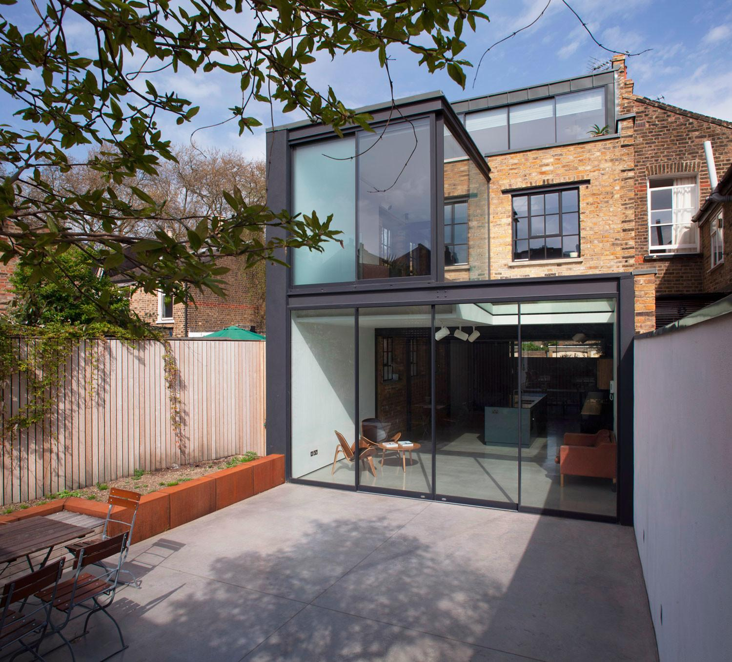 Giles Pike Architects Remodel Home London England