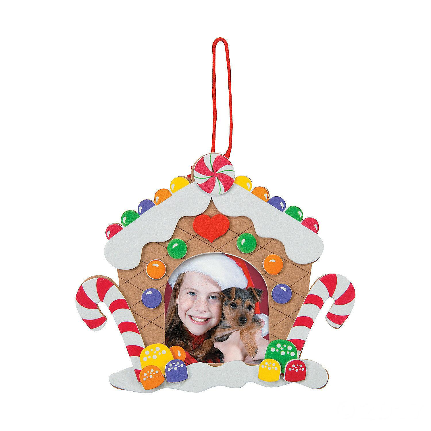 Gingerbread House Frame Craft Kit Busy Body Kids