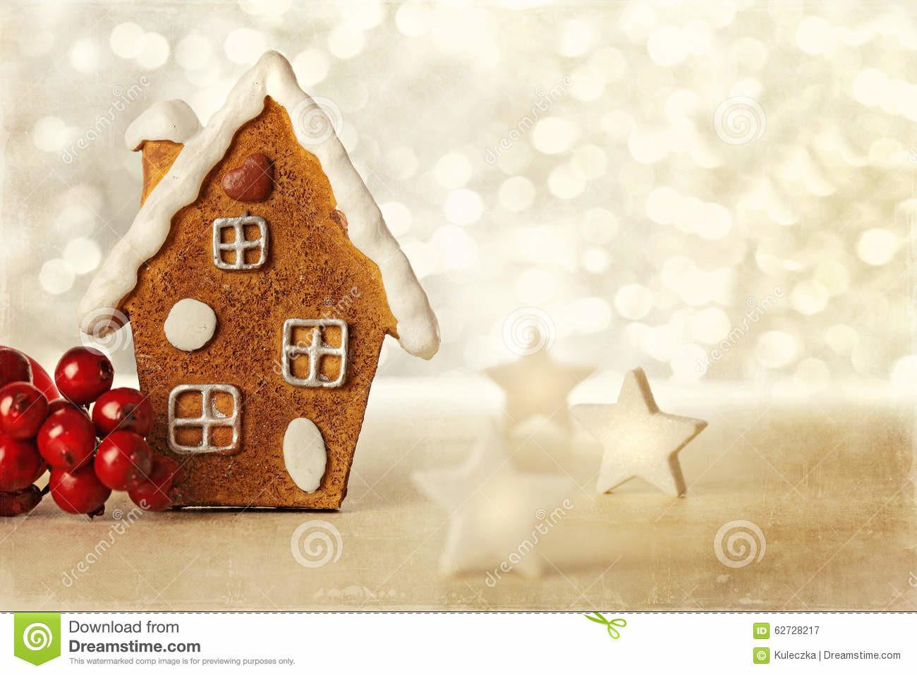 Gingerbread House Stock Copy