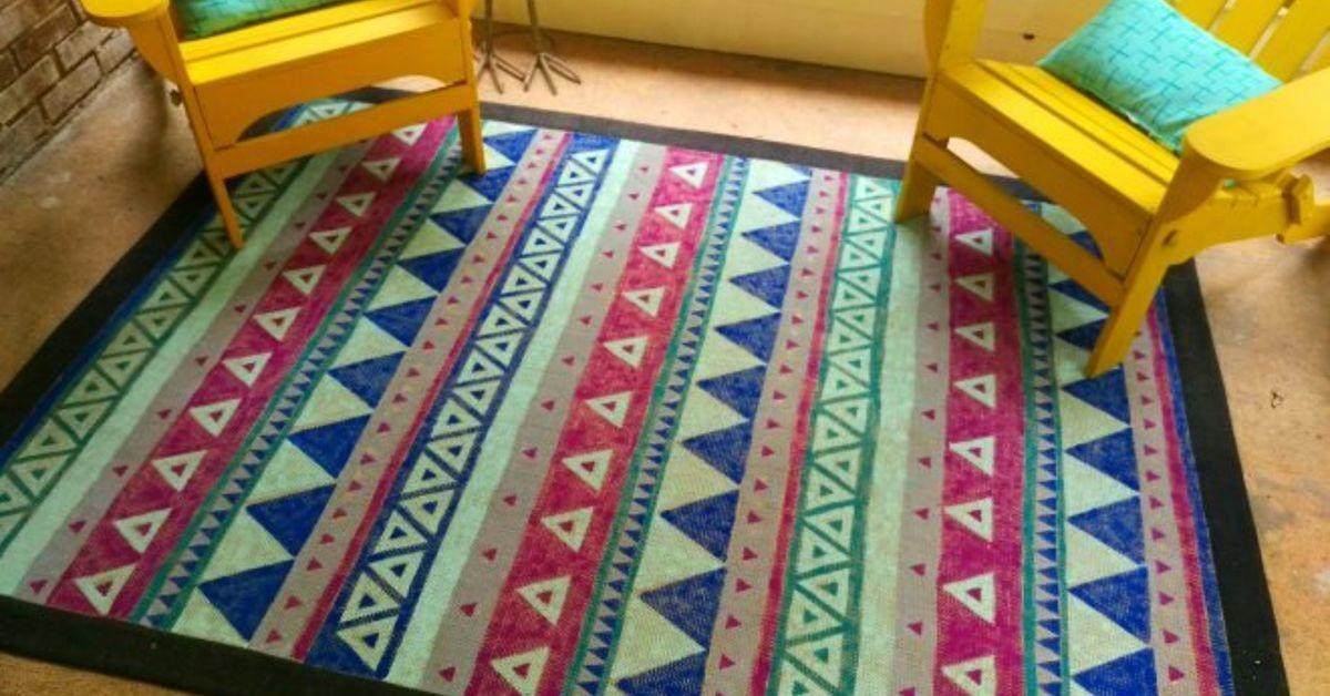 Give Old Rug New Life Painting Hometalk