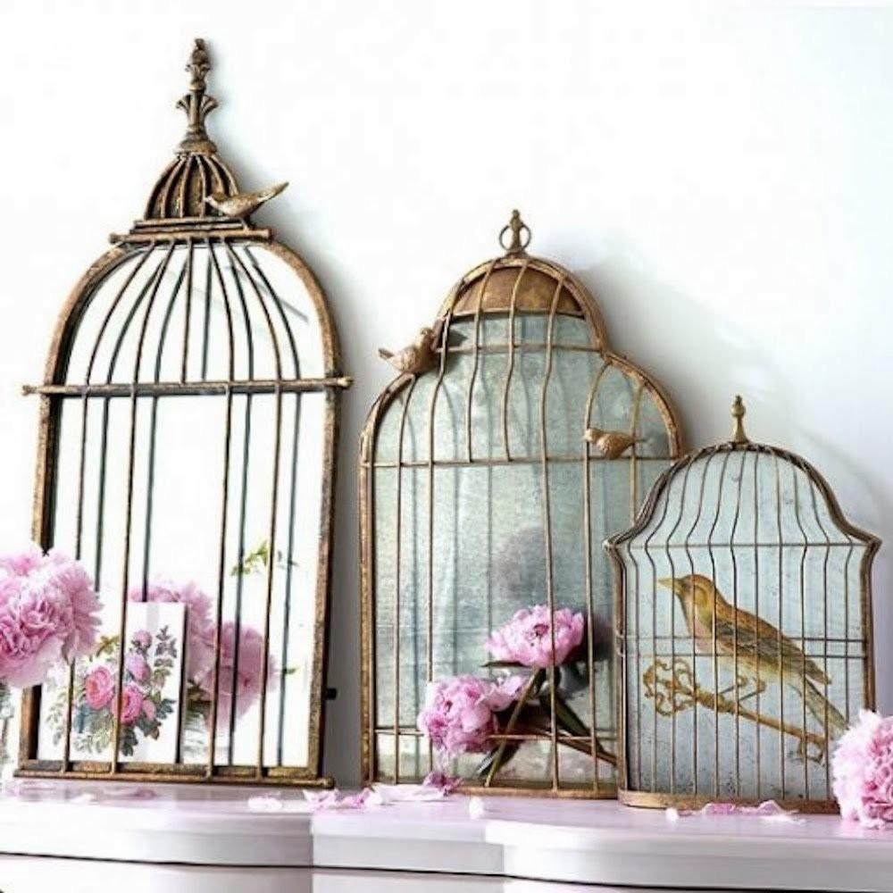 Give Your Home Chic Decor Reusing Old Bird Cage