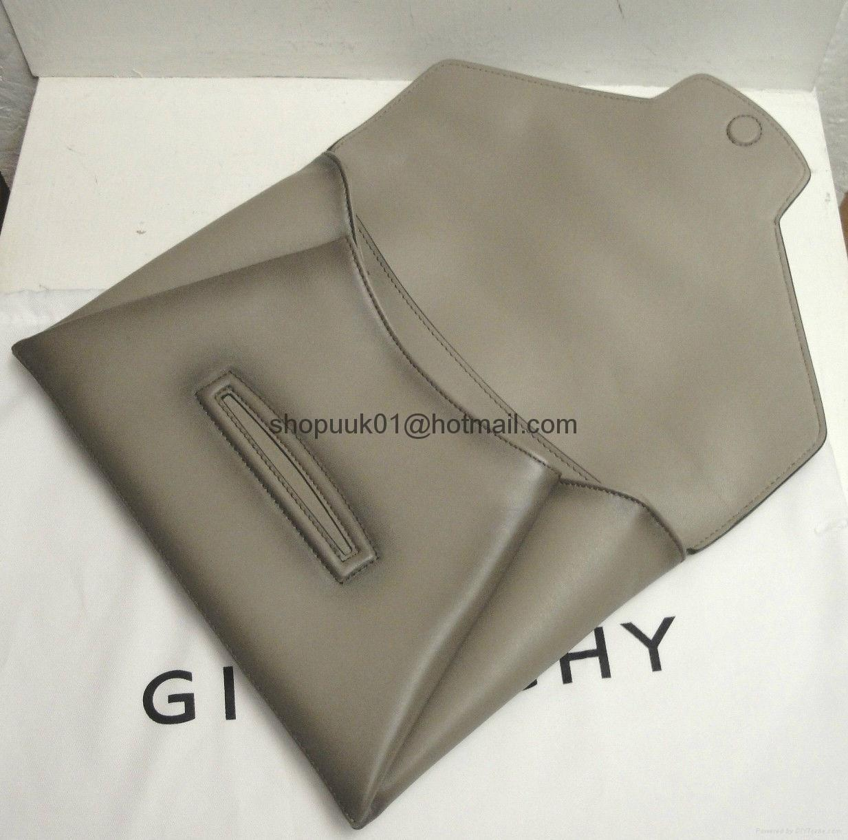 Givenchy Antigona Vintage Style Leather Evening Envelope