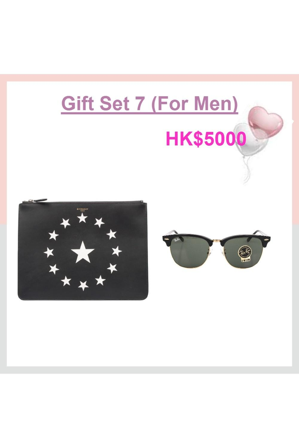 Givenchy Clutch Ray Ban Sunglasses Preserved Flower