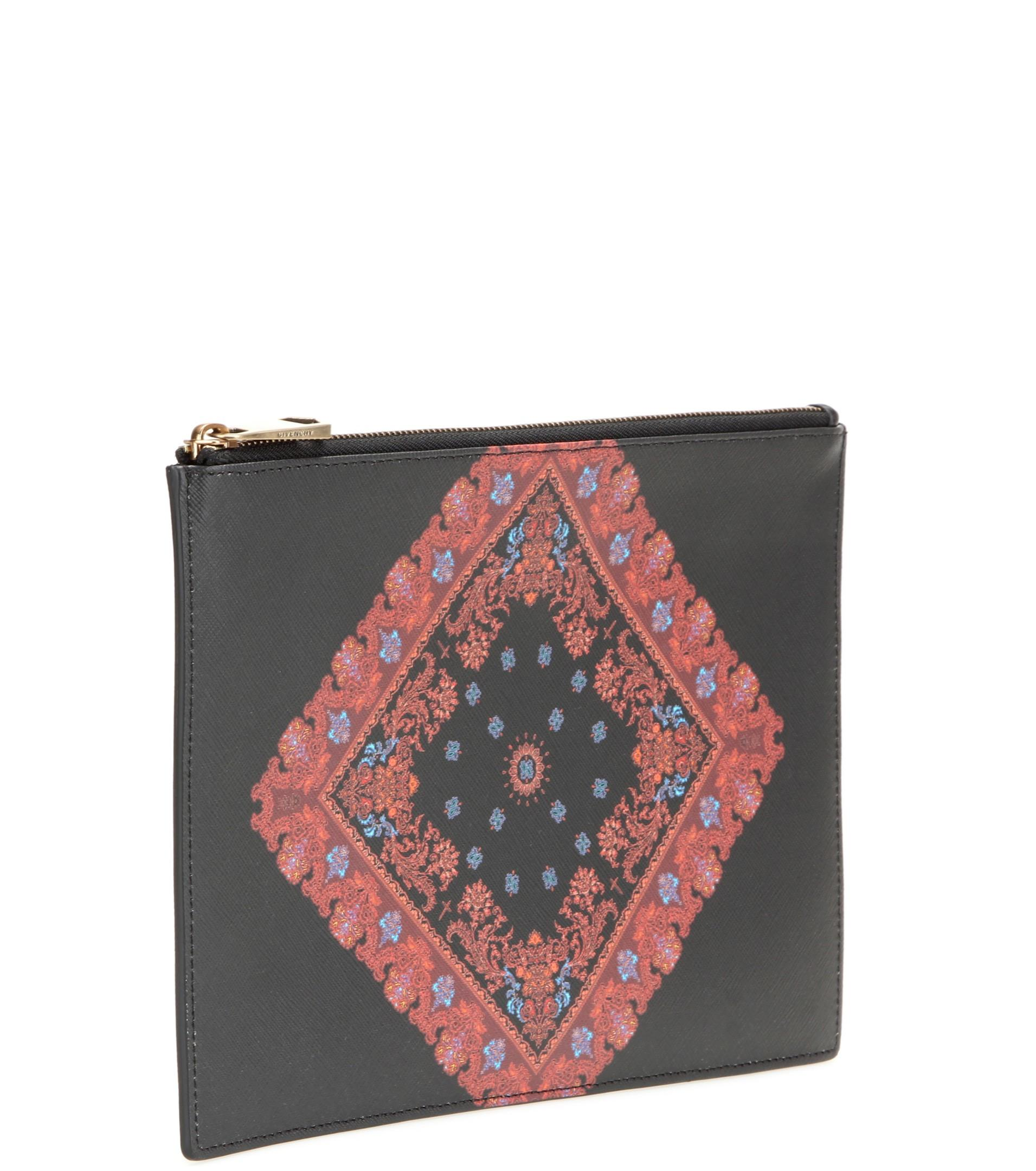 Givenchy Iconic Print Clutch Black Lyst