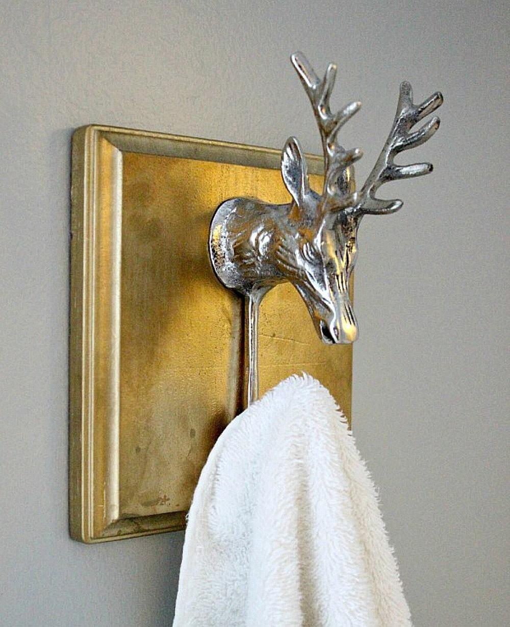 Glam Your Bath These Diy Towel Holders