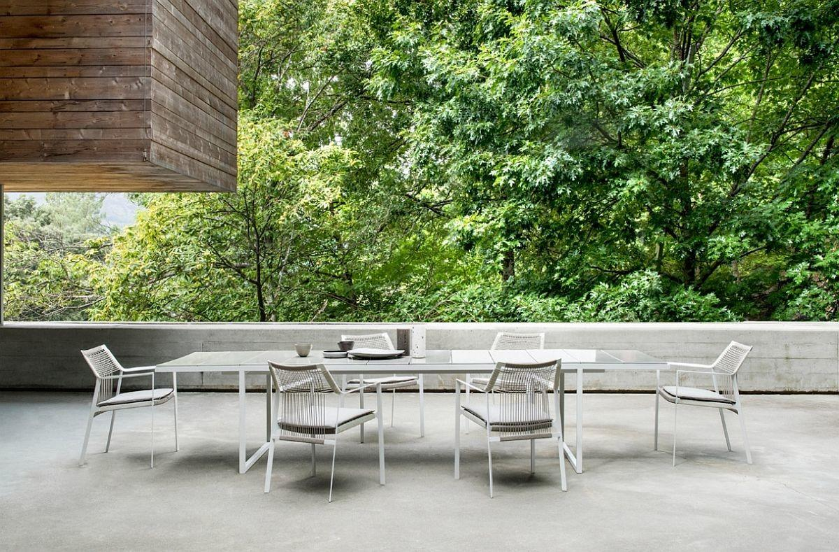 Glamorous Outdoor Table Weather Resistant Chairs