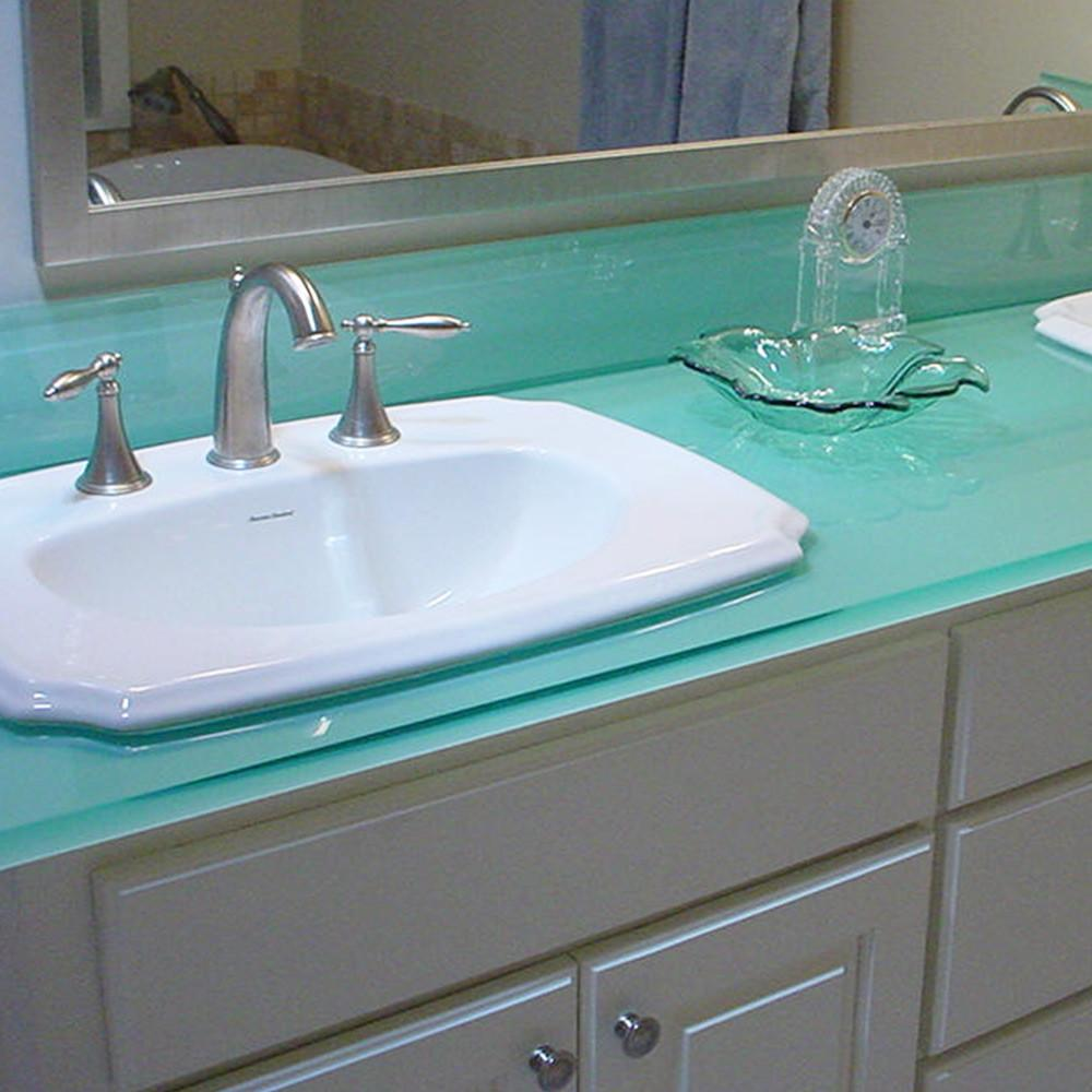 Glass Bathroom Countertops Geos Recycled