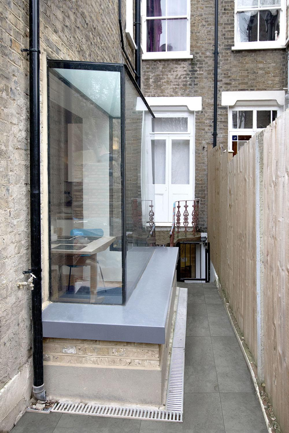 Glass Box Extension Home Design