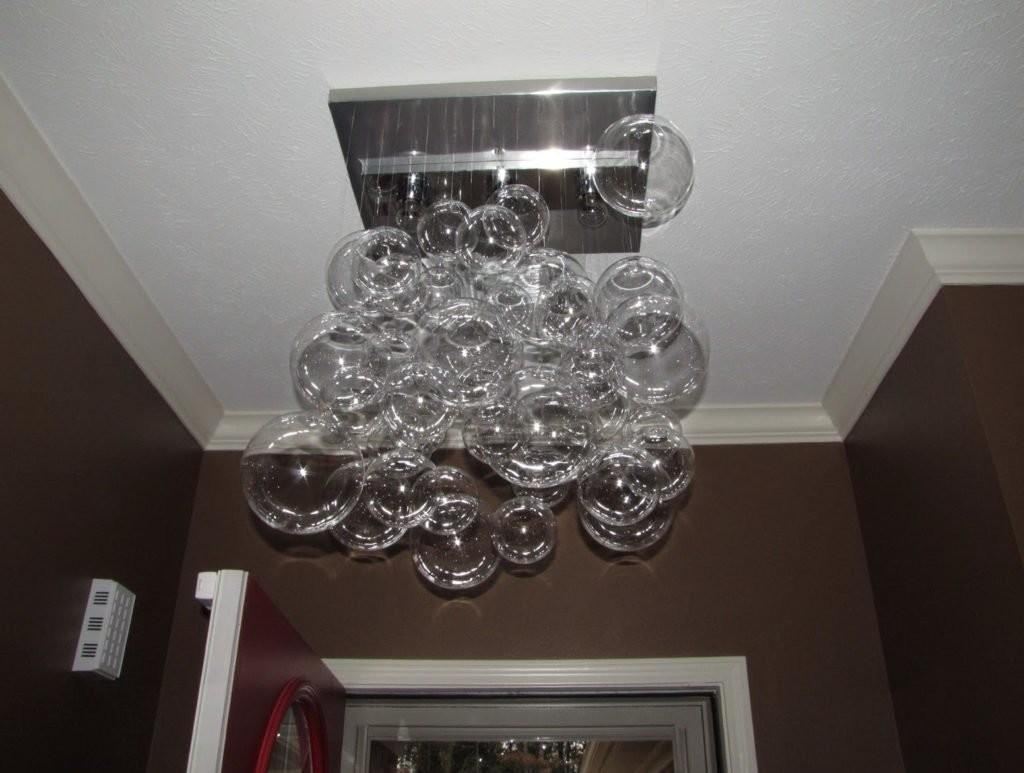 Glass Bubble Chandelier Diy Buzzardfilm