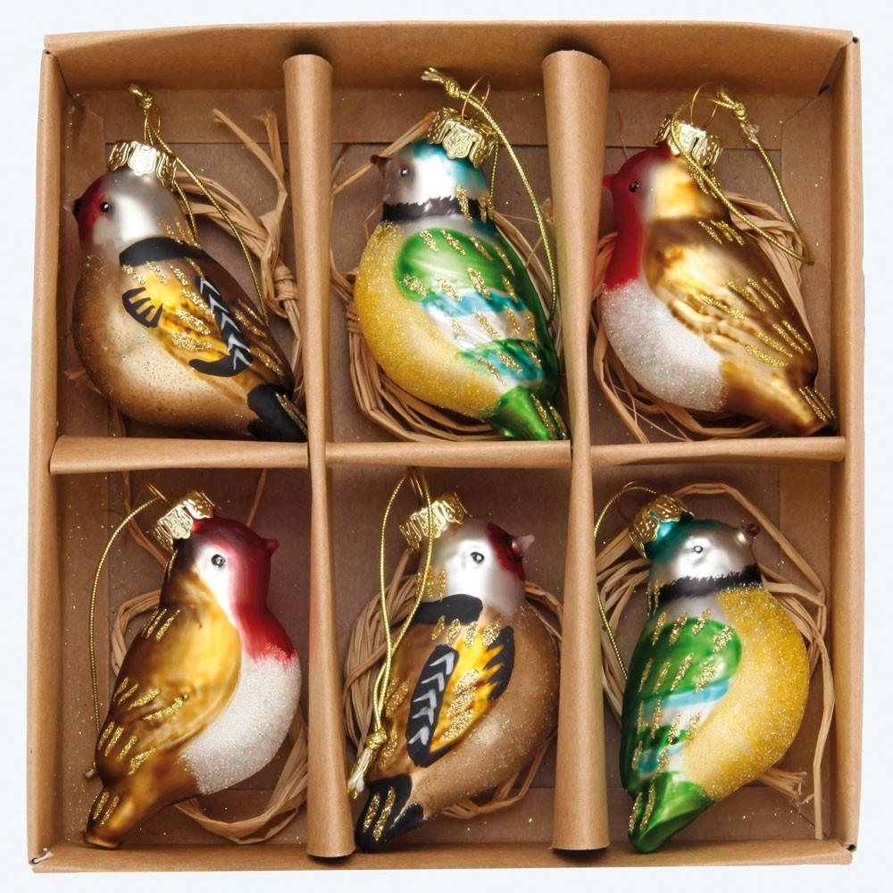 Glass Christmas Tree Decorations Happy Valentines Day