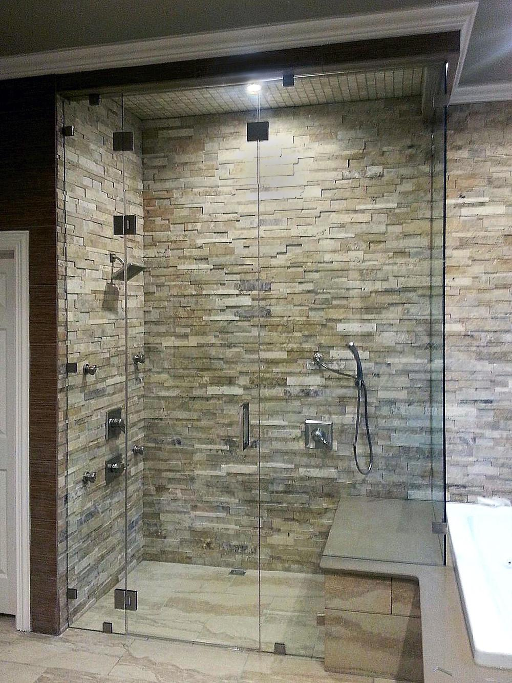 Glass Door Enclosure Showcase Shower Doors Austin