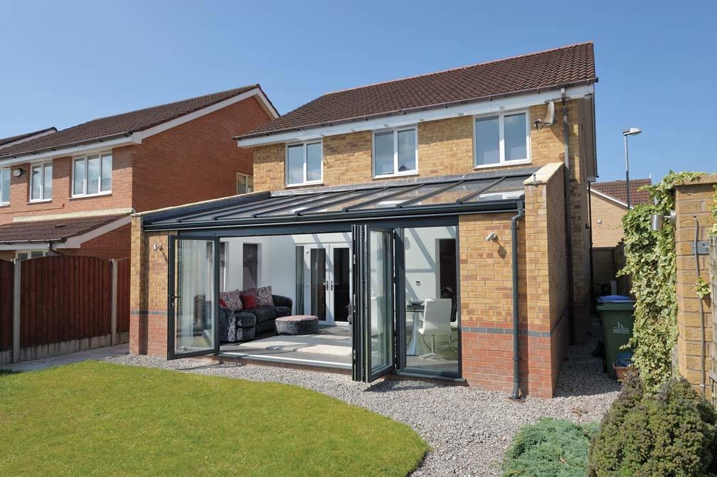 Glass Extension Contemporary Space Conservatories Products