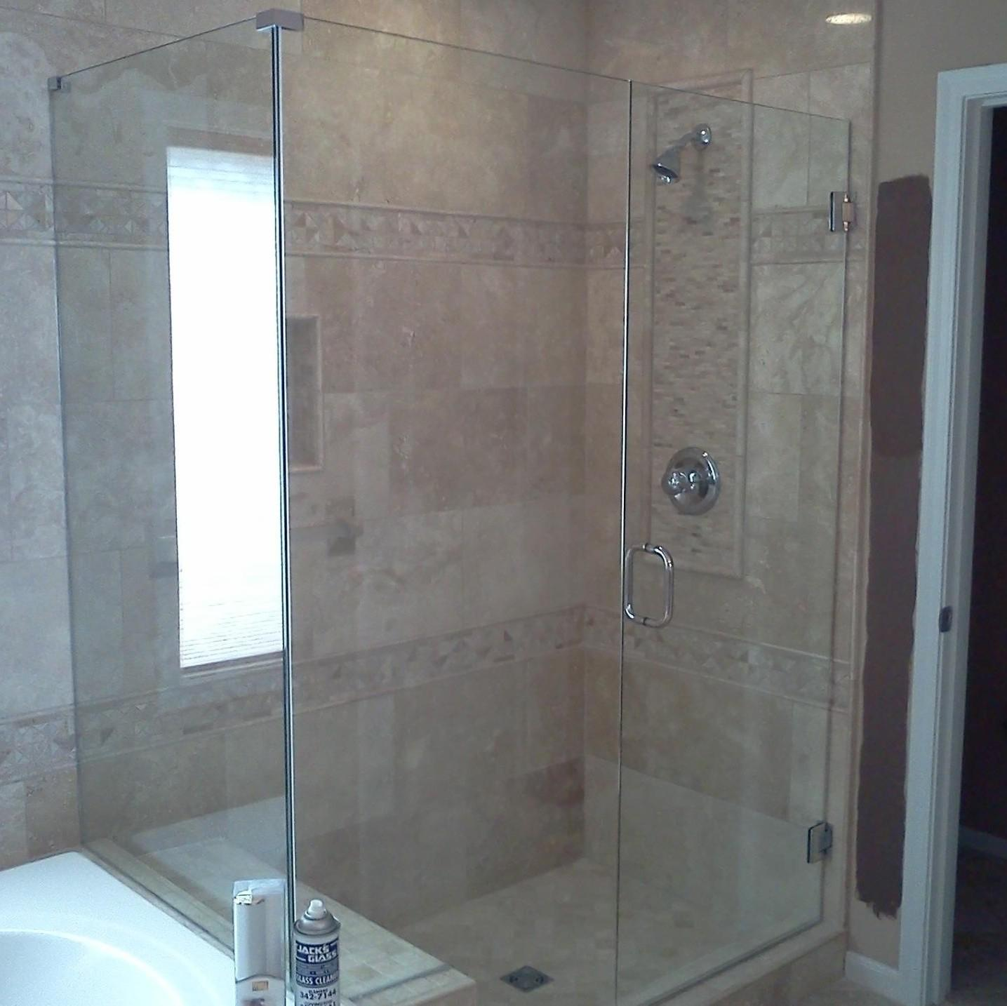Glass Shower Doors Semi Frameless Sliders Sliding