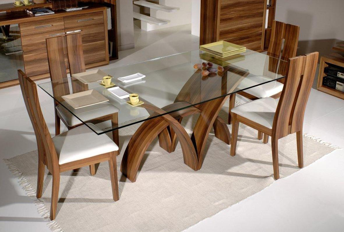 Glass Top Dining Tables Homesfeed