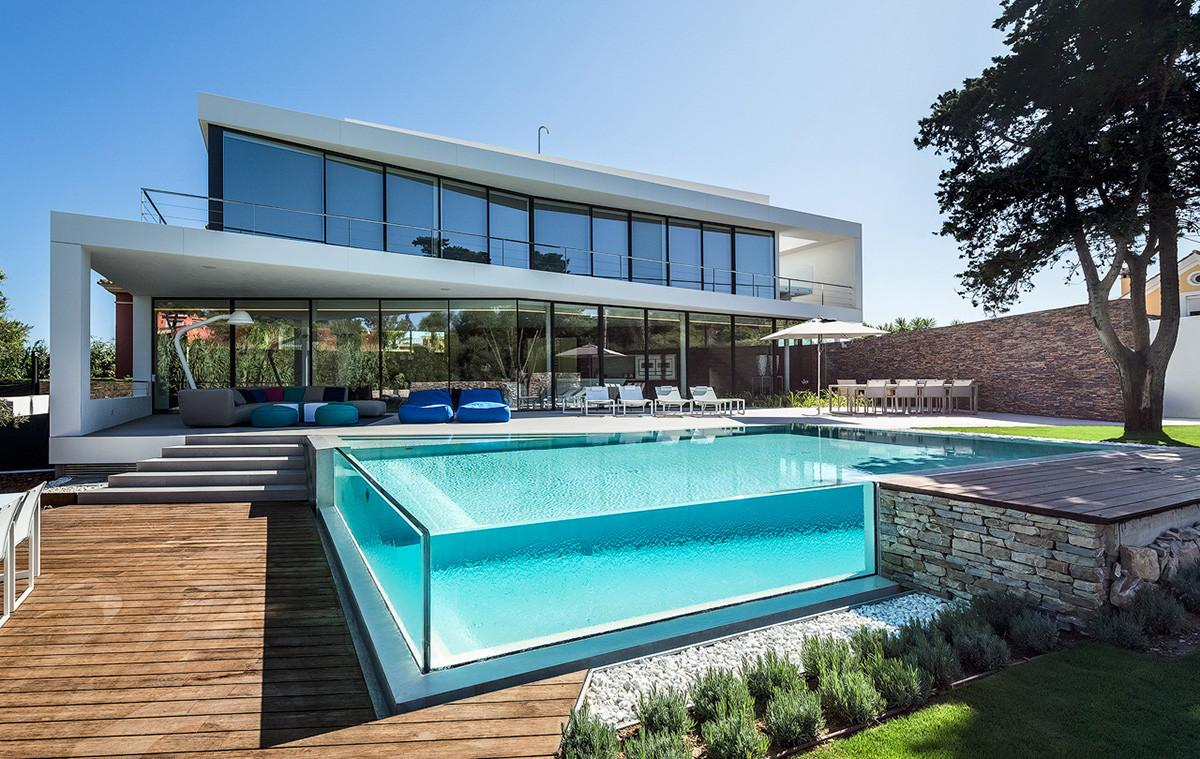 Glass Walled Swimming Pools Amazing Designs