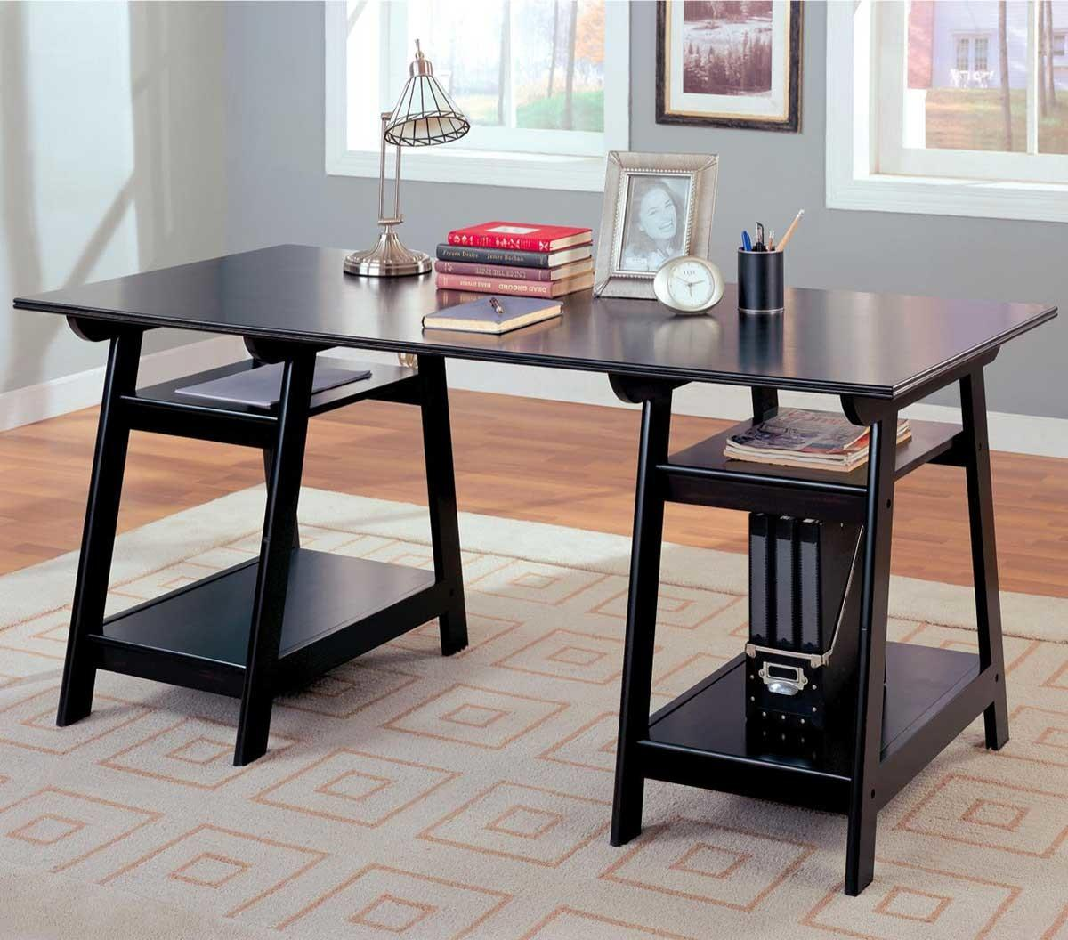 Glass Writing Desk Office Furniture