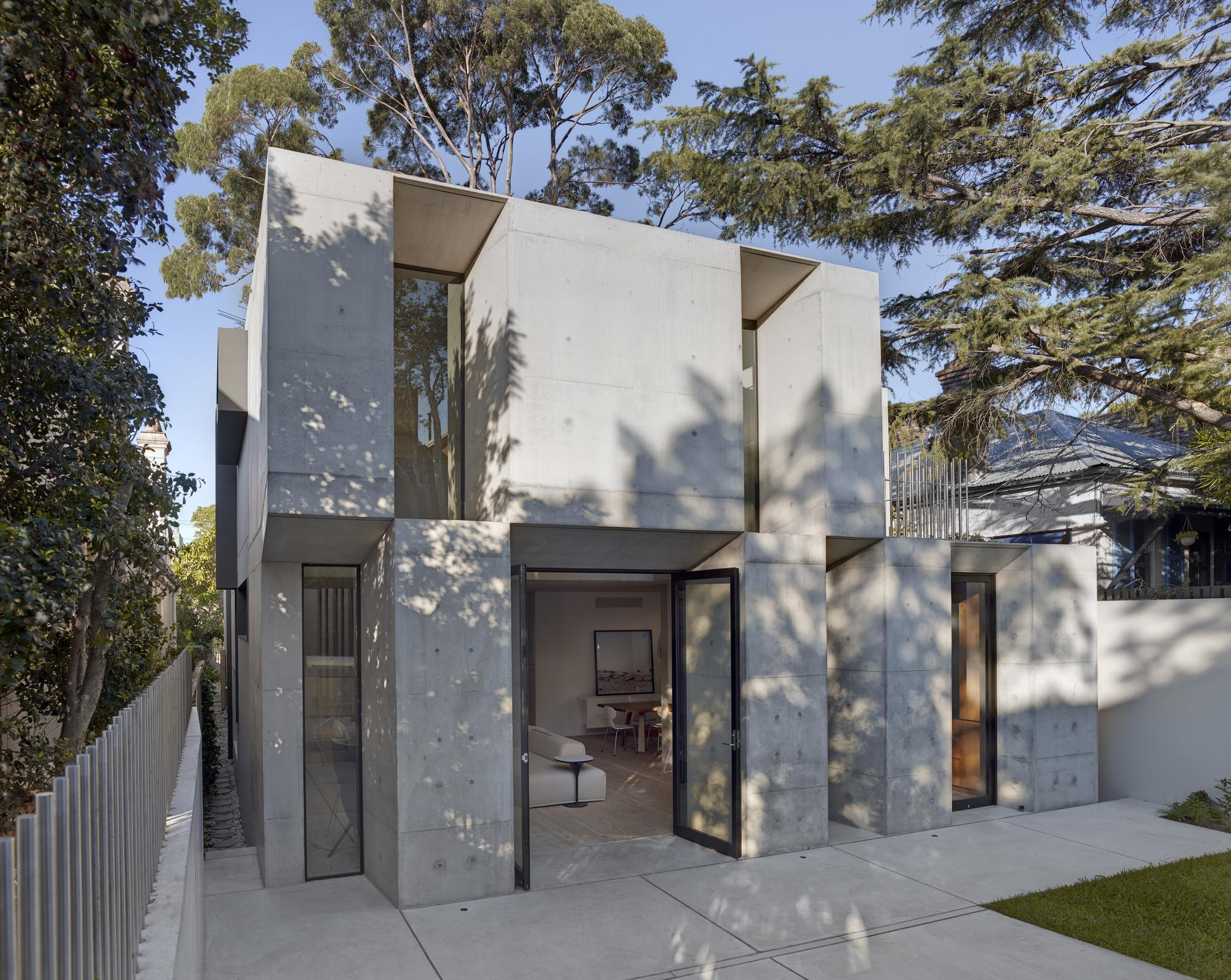 Glebe House Nobbs Radford Architects Archdaily