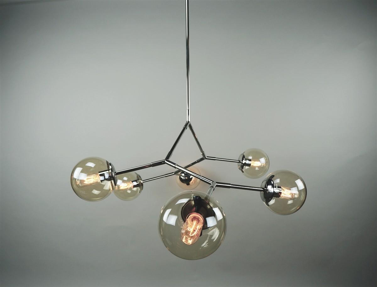 Globe Chandelier Collections Glass