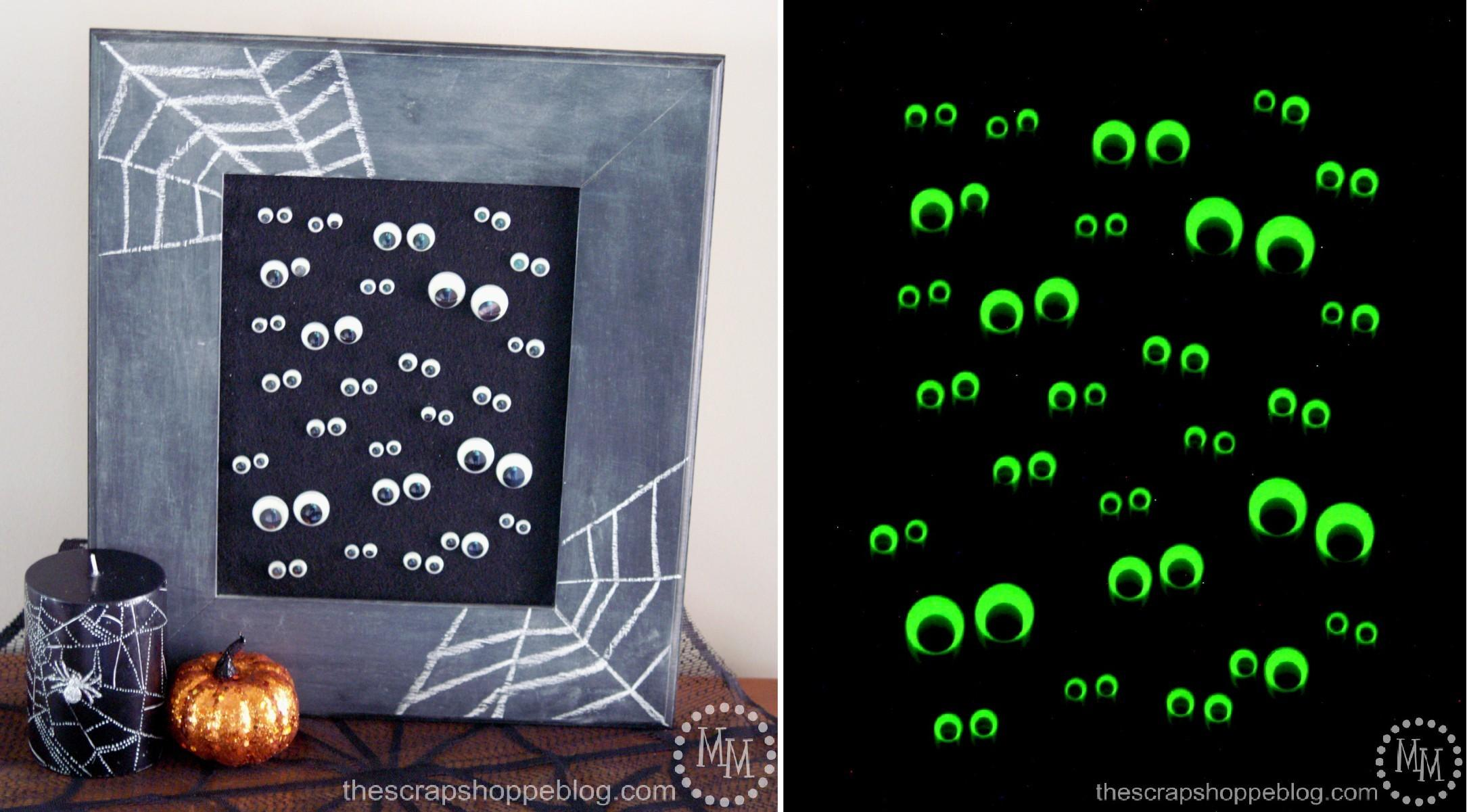 Glow Dark Googly Eye Art Fun Family Crafts