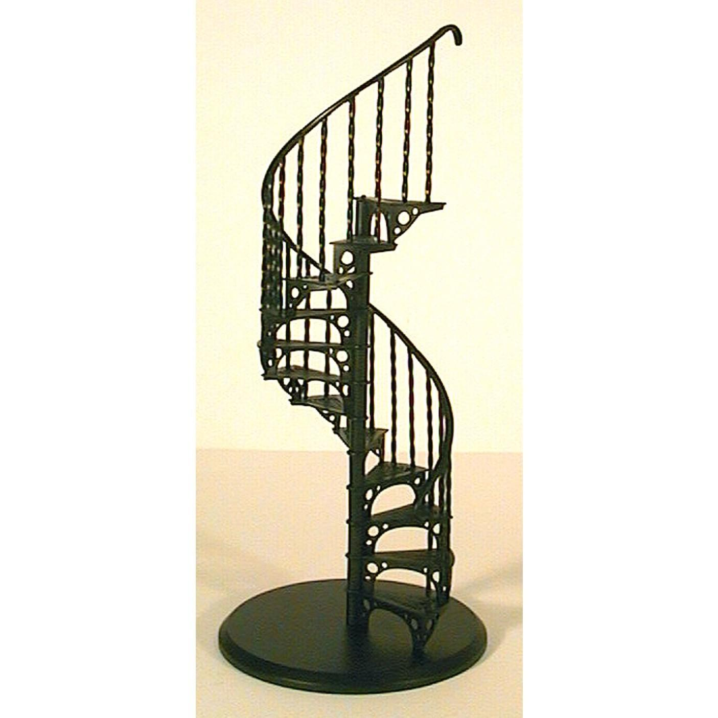 Glow Well Metal Spiral Staircase