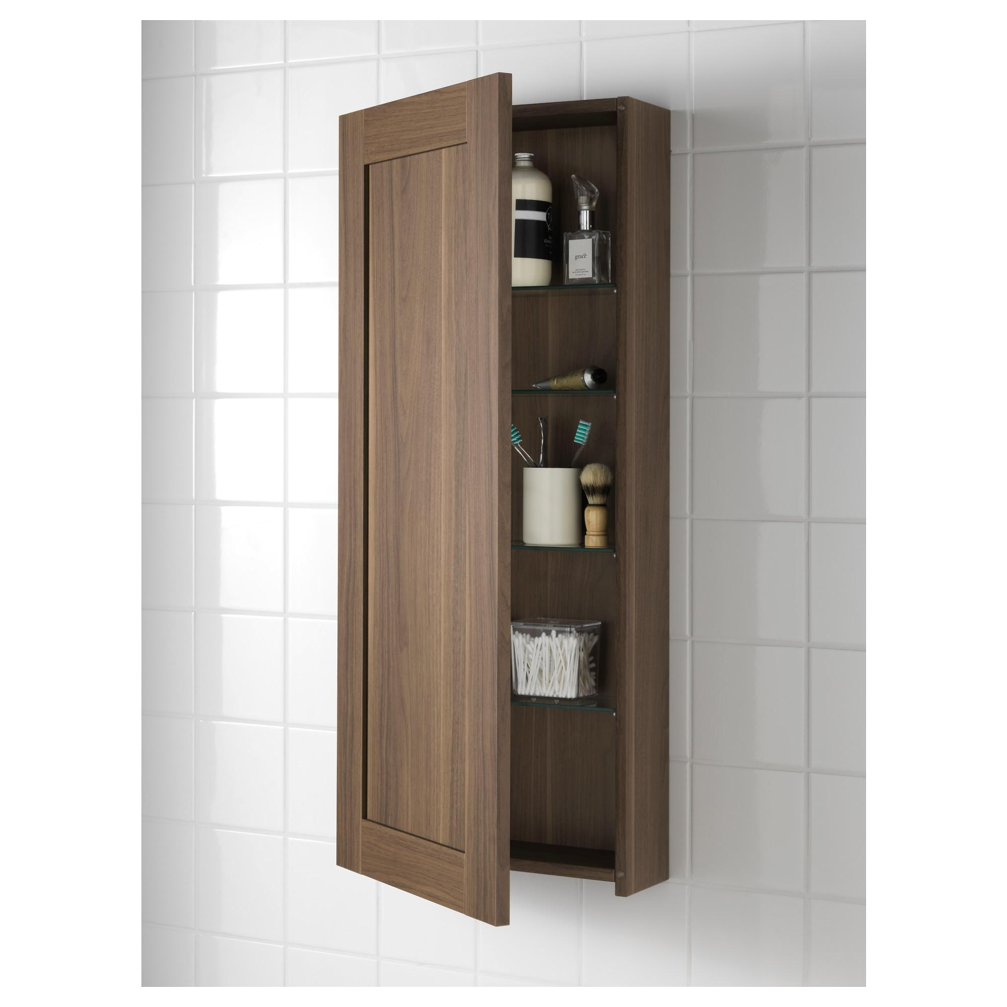 Godmorgon Wall Cabinet Door Walnut Effect X96