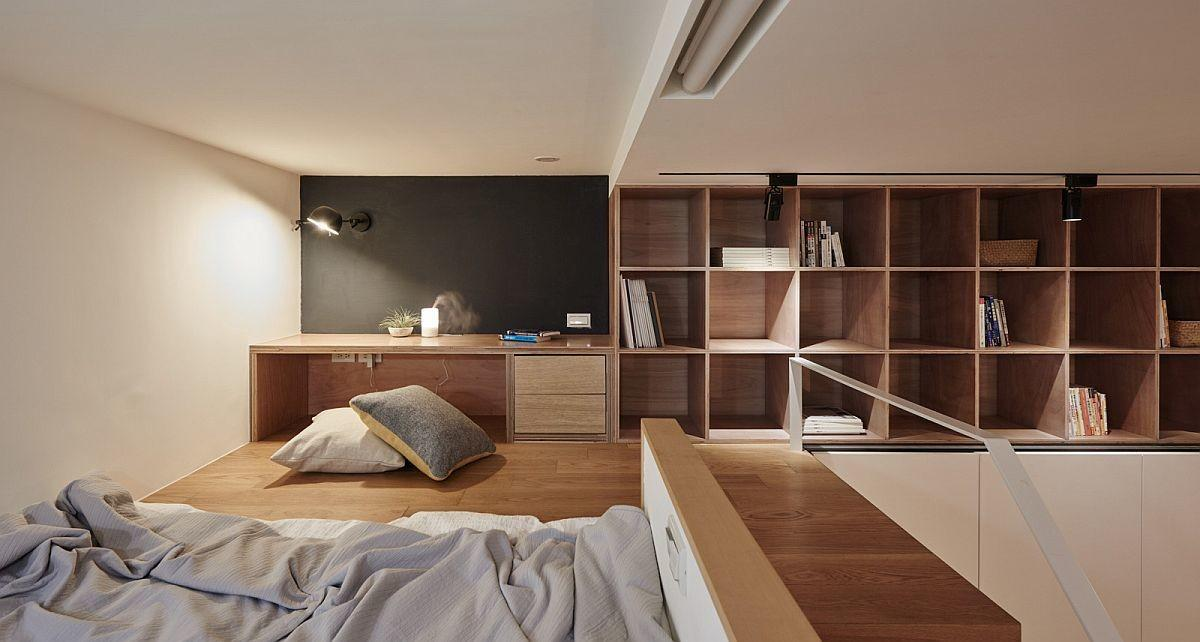 Going Vertical Tiny Sqm Apartment Maximizes Space Style