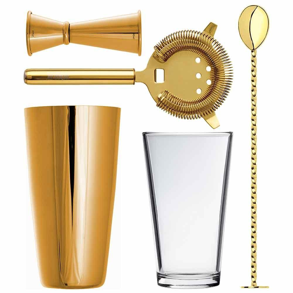 Gold Barware Lighting Gearys Thistle