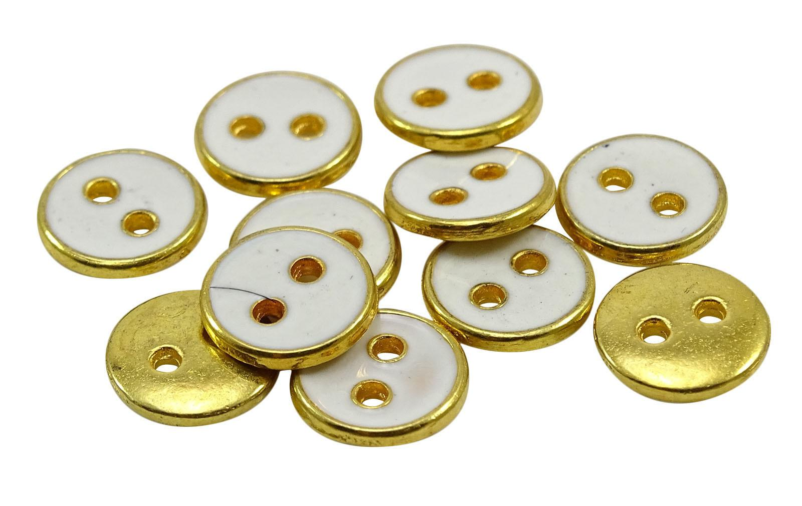 Gold Buttons Crafting Accessories Diy Sewing Wholesale