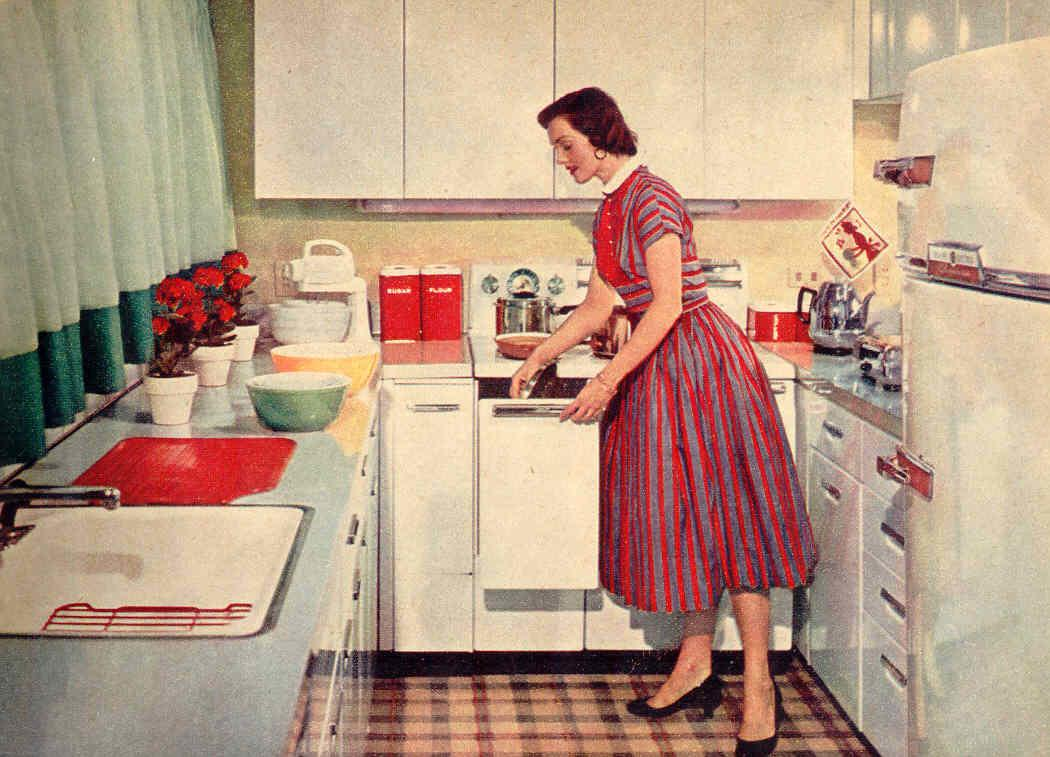 Gold Country Girls Few Vintage Kitchens